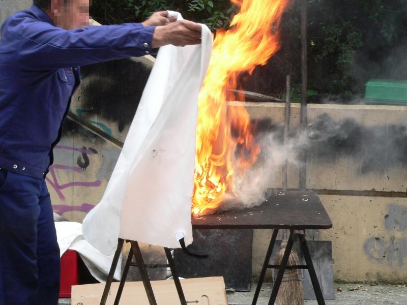 Manta ign�fuga, un recurso b�sico contra los incendios en el hogar