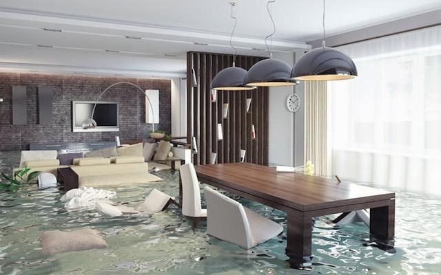 C�mo actuar ante una inundaci�n en casa