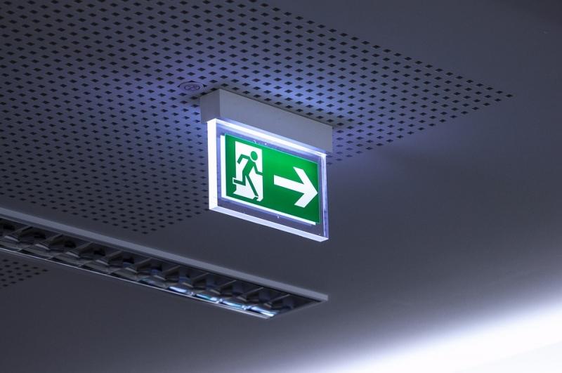 Protocolo de evacuaci�n de espacios de trabajo en caso de incendio