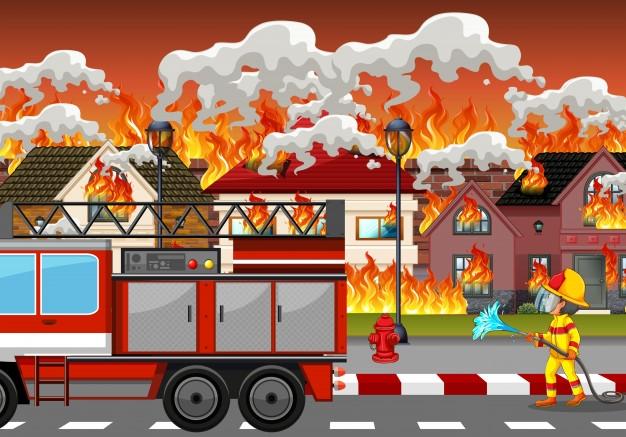 Las estad�sticas de incendios en el hogar en Espa�a
